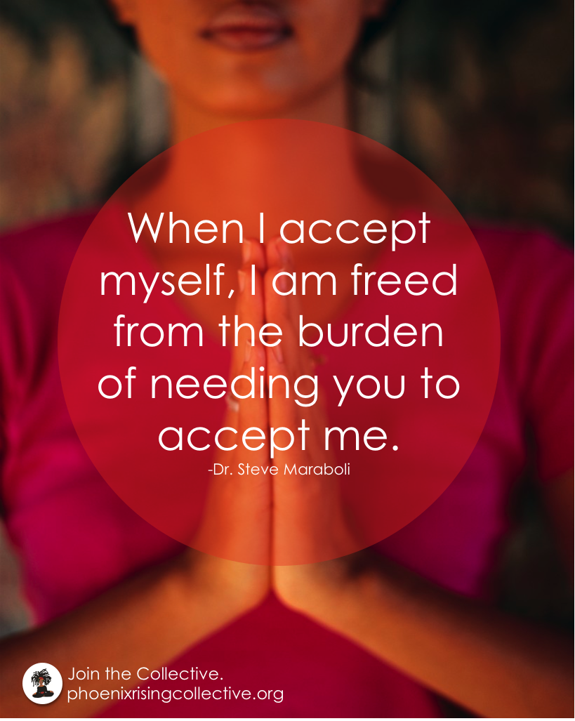 Affirmation Of The Day Self Love The Phoenix Rising Collective