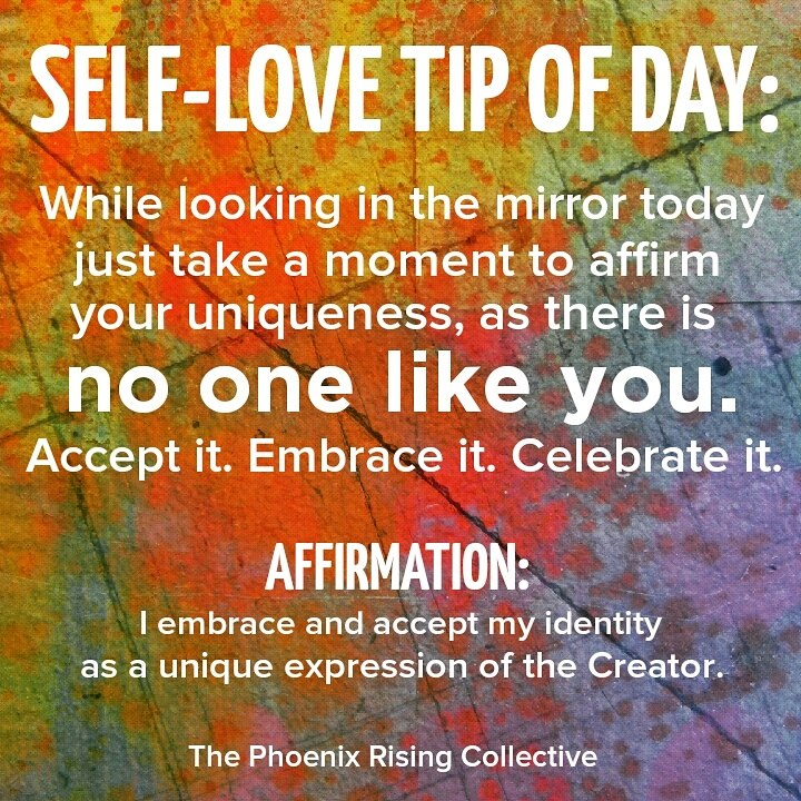 self love tip[the phoenixrisingcollective]
