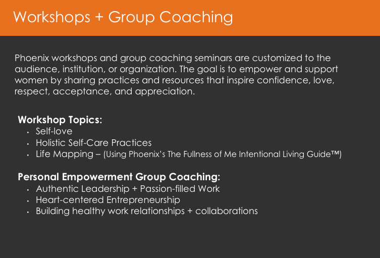 Workshop and Group Coaching Description